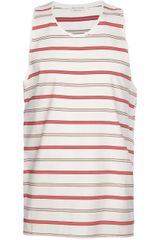 Marc Jacobs Striped Vest - Lyst