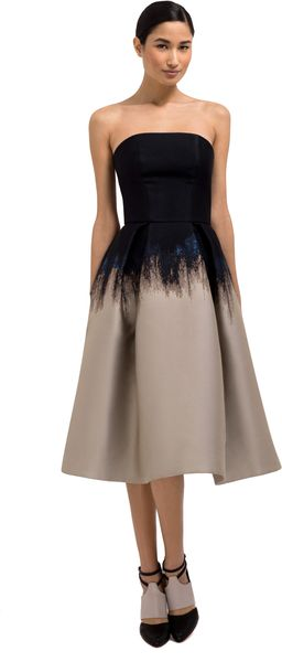 Mary Katrantzou Saga Trees Nevis Dress - Lyst