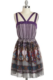 ModCloth Same Bold Story Dress - Lyst