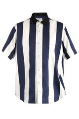Acne Oahu Stripe Shirt - Lyst