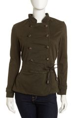 Christopher Blue Mia Military Jacket - Lyst