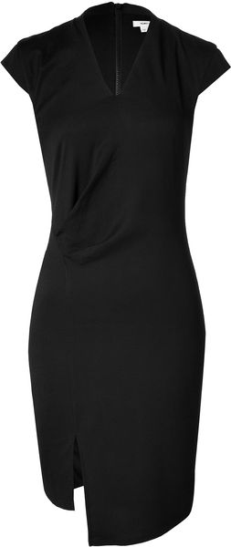 Helmut Lang Cupro Silk Dress - Lyst