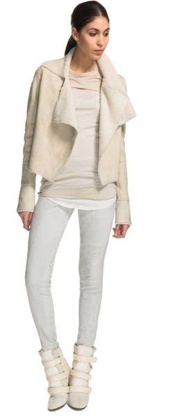 Isabel Marant Clayne Jacket in Beige (ecru)