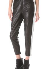 Rag & Bone Leather Pants - Lyst