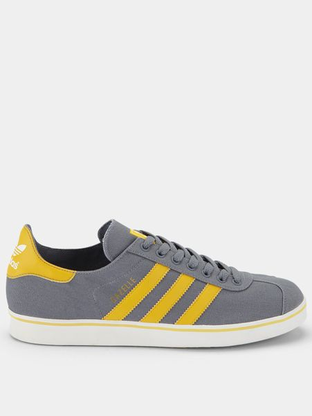 Adidas Mens Trainers Men Grey/yellow Adidas