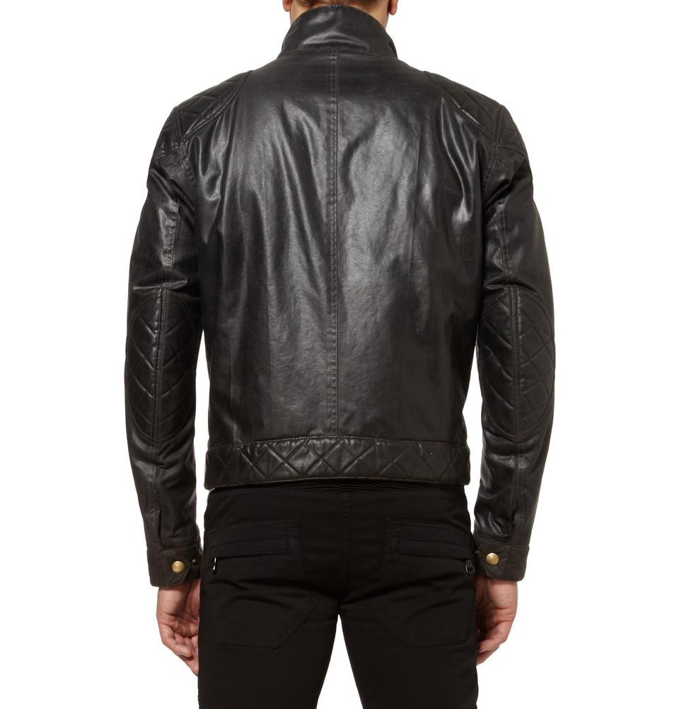 Belstaff S Icon Blouson Waxedcotton Jacket In Black For
