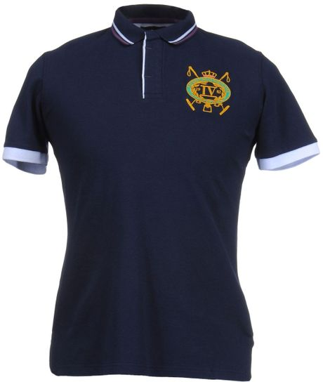 Beverly Hills Polo Club Polo Shirts In Blue For Men Dark