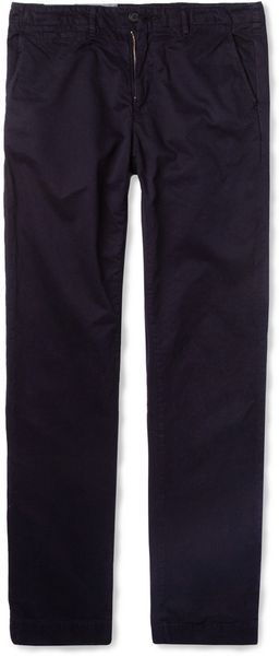 Billy Reid Jack Straightleg Washedcotton Chinos - Lyst