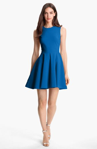 Diane Von Furstenberg Jeannie Stretch Fit Flare Dress - Lyst