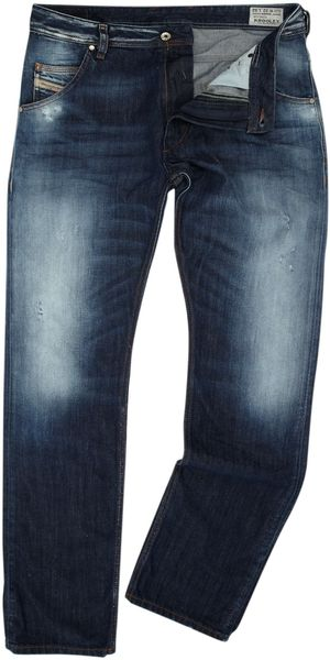 Diesel Krooley 810l Regular Slim Carrot Fit Jeans - Lyst