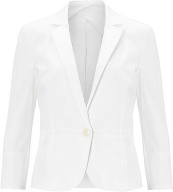 Max Mara Studio Sesia Long Sleeve Buttoned Jacket - Lyst