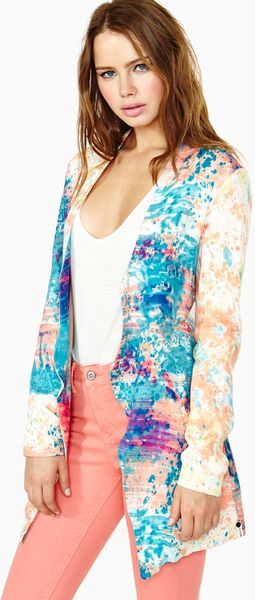 Nasty Gal Painted Lady Blazer - Lyst
