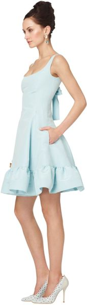 Hem Dress Dress With Ruffled Hem in