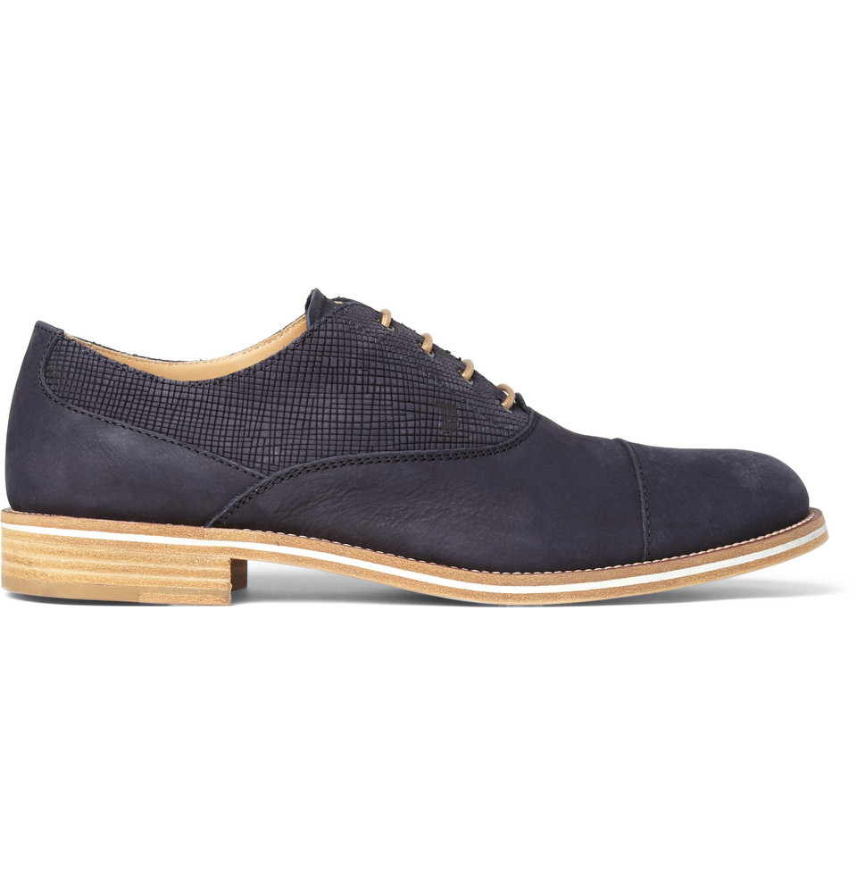 Tods Oxford Brown Shoes