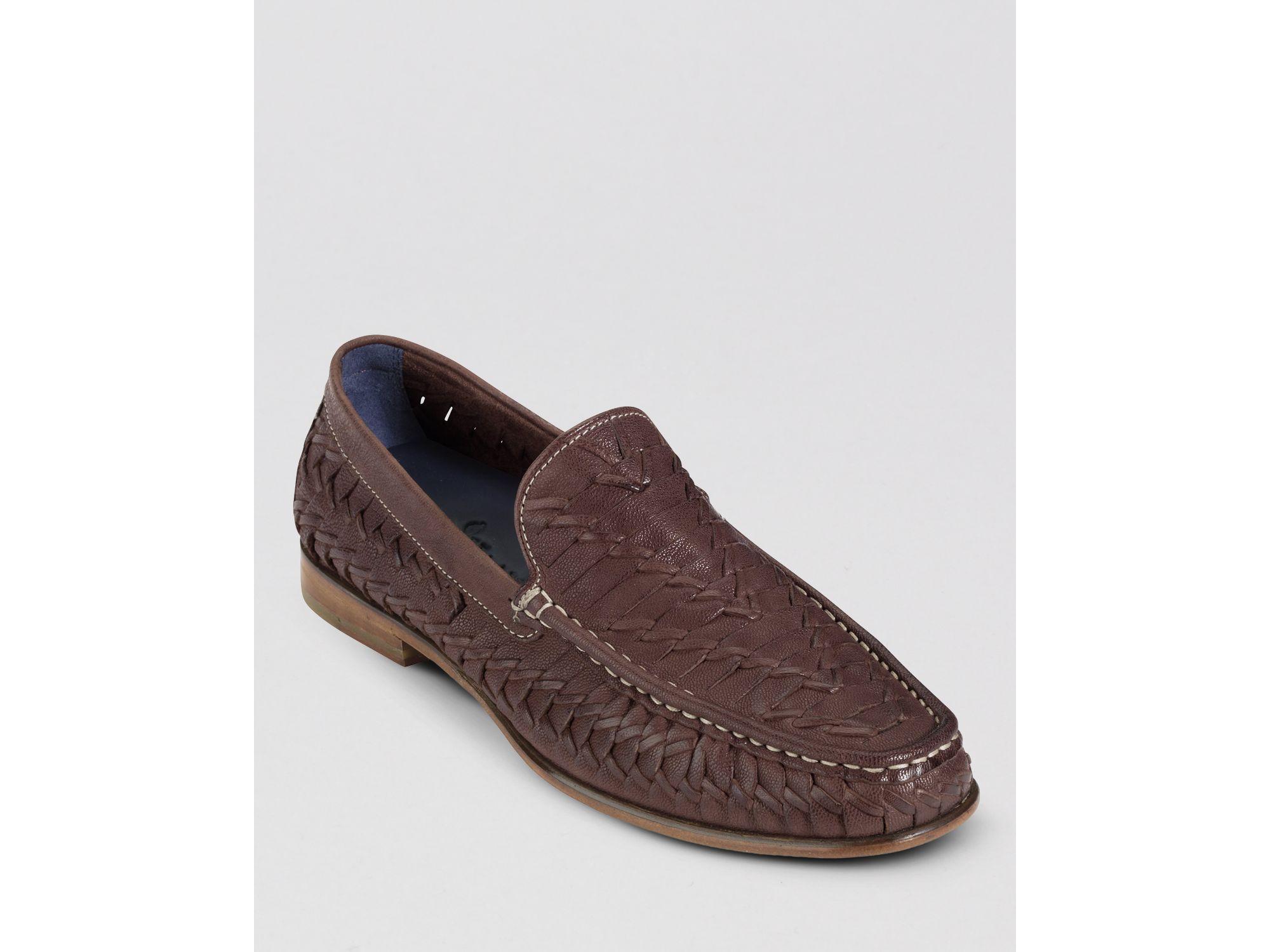 0b9dcda00d5 Lyst - Cole Haan Air Tremont Huarache Weave Venetian Loafers for Men