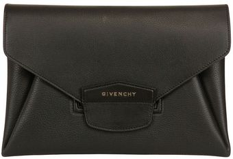 Givenchy Antigona Grained Leather Clutch - Lyst