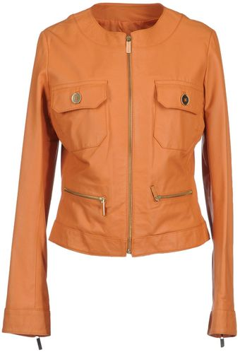 Laltramoda Leather Outerwear - Lyst
