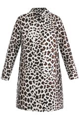 Marc Jacobs Satin Leopardprint Coat - Lyst