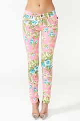 Nasty Gal Hot Tropic Skinny Jeans - Lyst