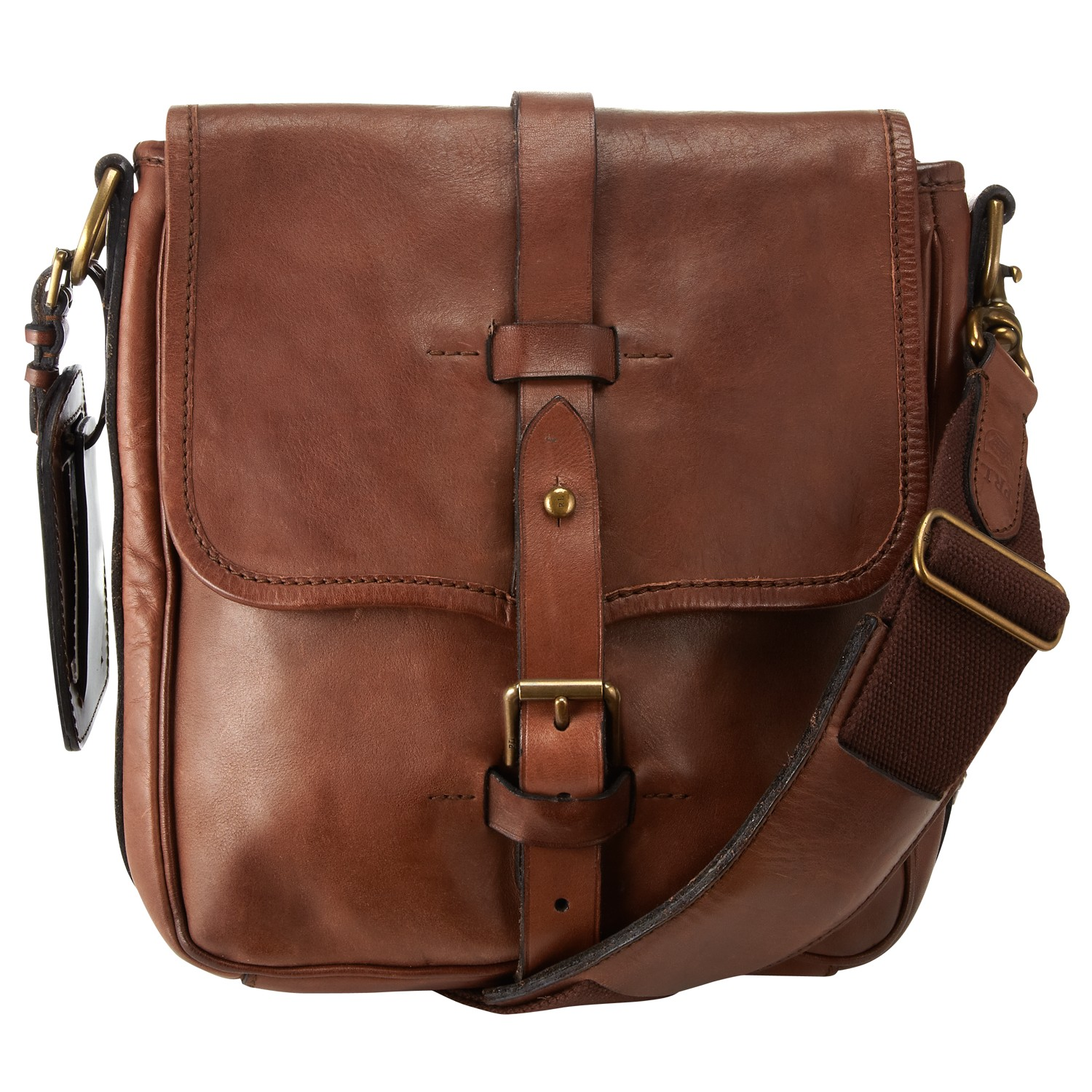 a121f795f2 Polo Ralph Lauren Leather Flight Bag in Brown for Men - Lyst