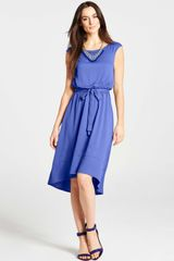 Ann Taylor High Low Hem Dress - Lyst