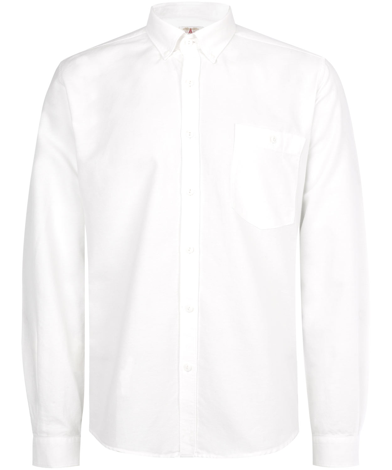 Barbour White Farnedale Oxford Shirt In White For Men Lyst
