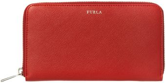 Furla Large Zip Around Purse - Lyst