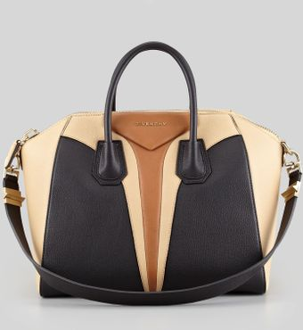 Givenchy Antigona Medium Triangle Panel Satchel Bag Mult - Lyst