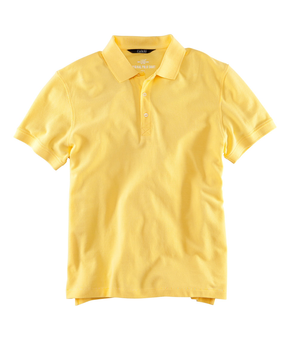 H M Polo Shirt In Yellow For Men Lyst