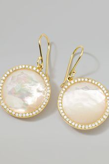 Ippolita  Rock Candy Lollipop Diamond Mother Of Pearl Earrings - Lyst