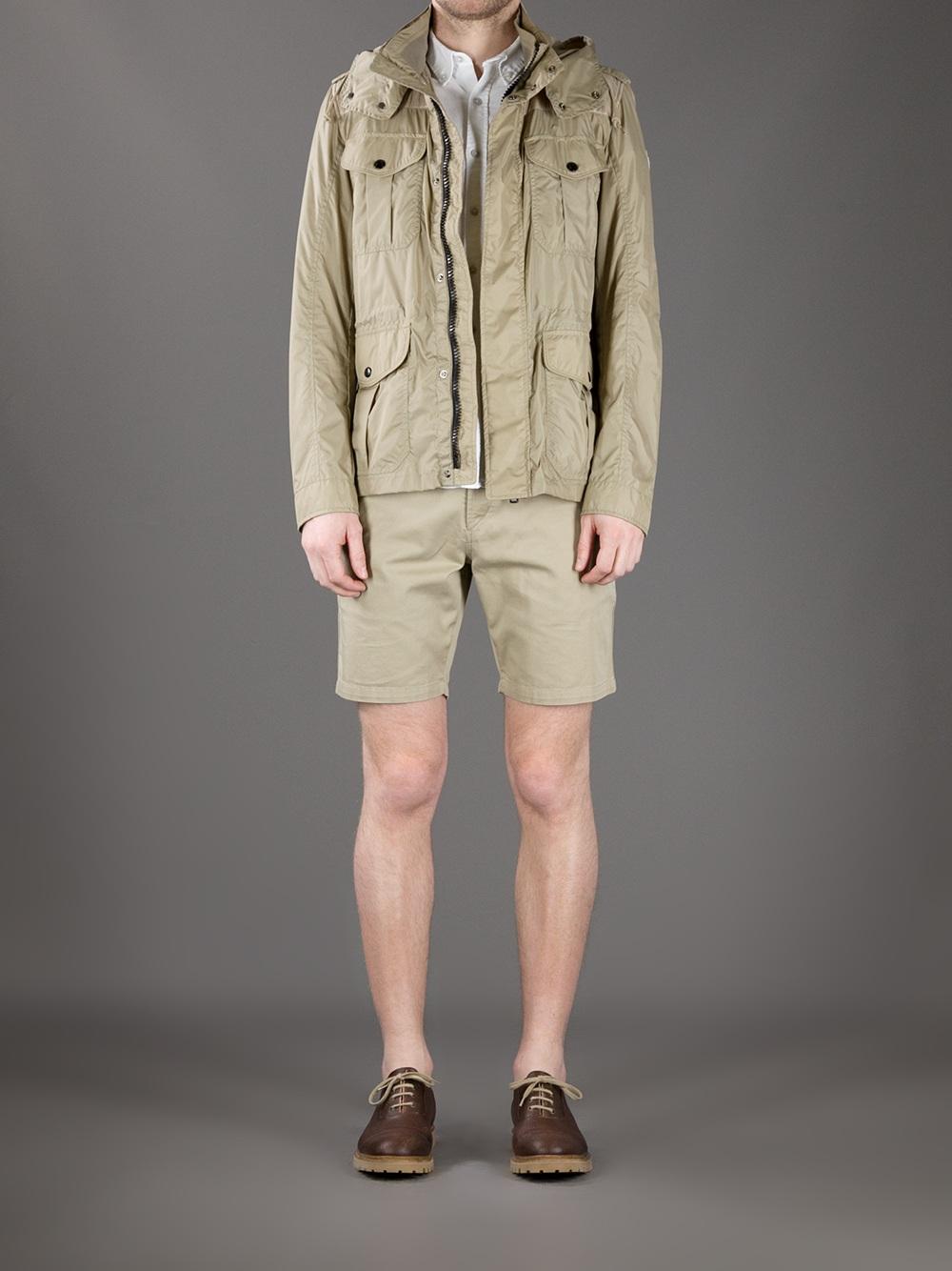 Moncler Peeters Jacket In Beige For Men Lyst