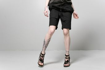 Oak Cargo Short Black - Lyst