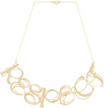 Tom Binns Uber Urban Respect Necklace  - Lyst