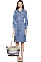 Tory Burch Brigitte Dress - Lyst