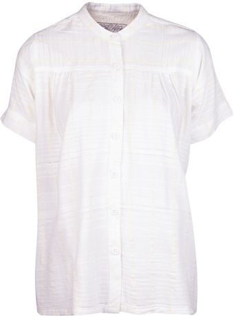 Ace & Jig Button Front Blouse - Lyst