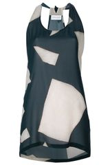 Christian Wijnants Geometric Print Vest Top - Lyst