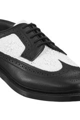 Florsheim By Duckie Brown Beaded Wingtip Brogue - Lyst