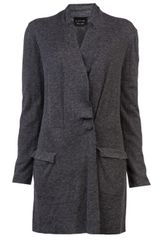 Lanvin Vault Double Breasted Cardigan - Lyst