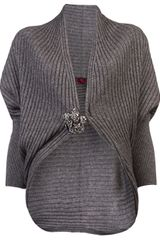 Lanvin Vault Ribbed Shrug - Lyst