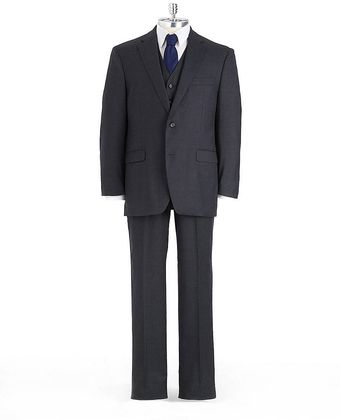 Lauren by Ralph Lauren Threepiece Wool Suit - Lyst