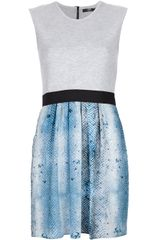 Markus Lupfer Sleeveless Dress - Lyst