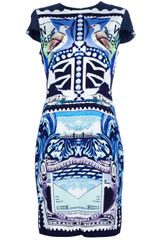 Mary Katrantzou Starsailor Print Dress - Lyst