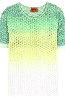 Missoni Ombré Crochet Knit Top - Lyst