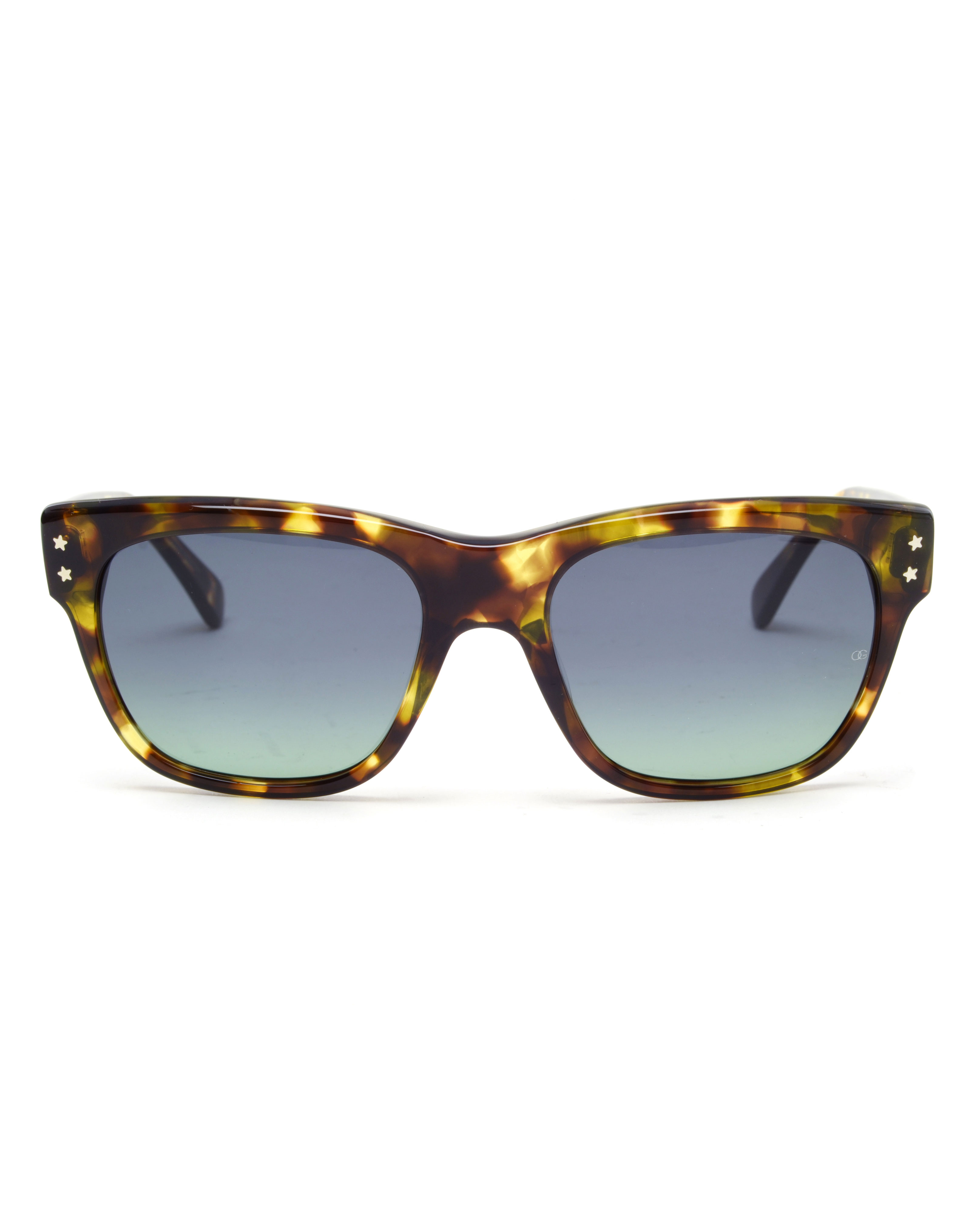 e4be445c1c58 Oliver Goldsmith Lord Split Acetate Sunglasses in Brown - Lyst