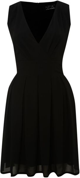 Pussycat Chiffon Vneck Wrap Dress - Lyst
