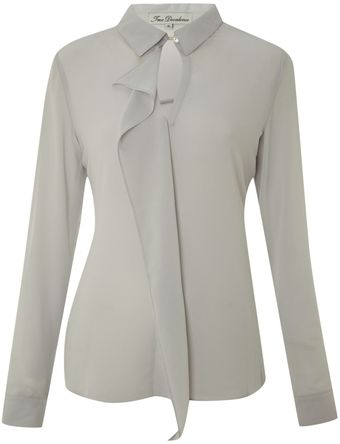 True Decadence Metal Collar Detail Shirt - Lyst