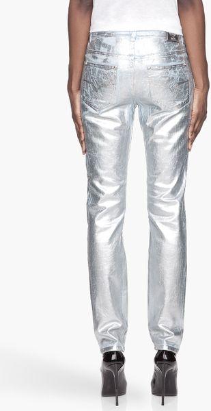 White Levi Jeans For Men
