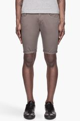 G-star Raw Olive Green New Radar Tapered Shorts - Lyst