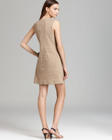 Theory Casual Dress Wandu in Beige (sandy beige) | Lyst