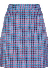 Marc By Marc Jacobs Jacquard Skirt - Lyst